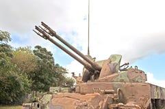Viet Nam War: Ainti-Aircraft Gun Royalty Free Stock Photos