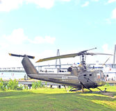 Viet Nam War : Iroquois Huey de Bell HU-1 Images stock