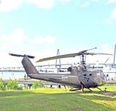Viet Nam War: Klok HU-1 Iroquois Huey Stock Afbeeldingen