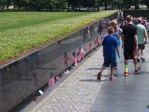 Viet Nam War Memorial, Washington Foto de archivo