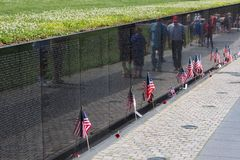Viet Nam War Memorial, Washington Stock Image