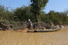 Vietamese  Floating Village Stock Photography
