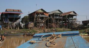 Vietamese  Floating Village Royalty Free Stock Images