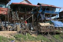 Vietamese  Floating Village Stock Photo