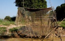 Vietamese  Floating Village Stock Photos