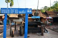 Vieti il villaggio della BO Kluea a Nan, Tailandia Fotografia Stock Libera da Diritti