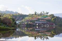 Vieti Rak tailandese, uno stabilimento cinese nella provincia del Mae Hong Son, Tailandia del Nord Fotografia Stock Libera da Diritti