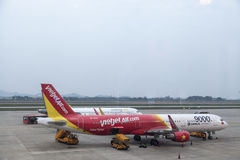 VietJet airline Royalty Free Stock Images