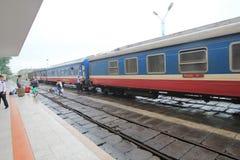 Vietman Hue Railway Station Arkivbild