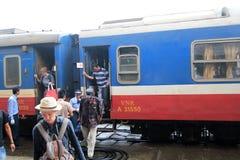 Vietman Hue Railway Station Fotografering för Bildbyråer