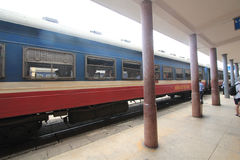 Vietman Hue Railway Station Royaltyfria Foton