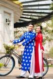In Vietnam Royalty-vrije Stock Afbeeldingen