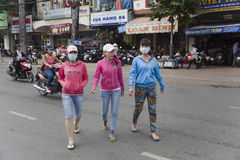 Vietnam - air pollution Stock Photography