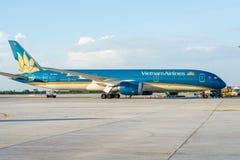 Vietnam Airlines Fotografering för Bildbyråer