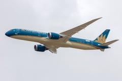 Vietnam Airlines B787-900 Photographie stock libre de droits