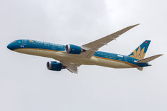 Vietnam Airlines B787-900 Royalty Free Stock Photography