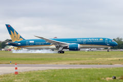 Vietnam Airlines B787-900 Royalty Free Stock Photo