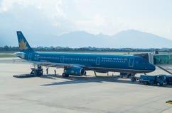 Vietnam Airlines A321 flygplan Royaltyfri Bild