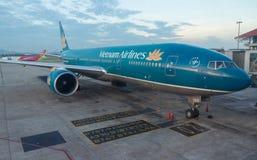 Vietnam Airlines A321 flygplan Royaltyfria Bilder