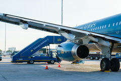 Vietnam Airlines Royalty Free Stock Image