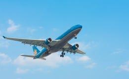 Vietnam Airlines nivåländer Arkivfoto
