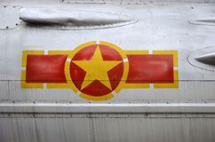 Vietnam airplane sign Royalty Free Stock Photo