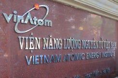 Vietnam atomenergiinstitut Hanoi Vietnam Arkivfoto