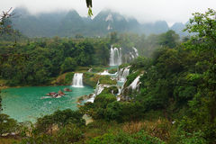 Vietnam Ban Gioc waterfalls Stock Photos