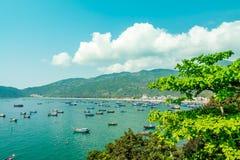 Vietnam bay stock photos