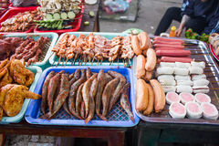 Vietnam bbq street food Royalty Free Stock Image