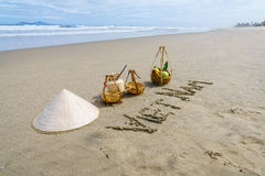 Vietnam Beach Stock Image