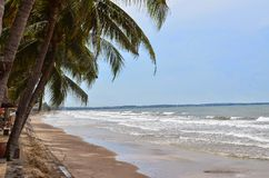 Vietnam. Beach Muine Stock Images