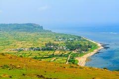 Vietnam beach. Beach at Ly Son island, Quang Ngai, Vietnam Stock Photos
