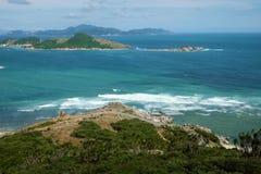 Vietnam beach, Ninh Thuan, travel, Vinh Hy Royalty Free Stock Image
