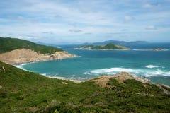 Vietnam beach, Ninh Thuan, travel, Vinh Hy Stock Image