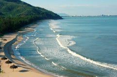 Vietnam beach, Viet Nam seashore, landscape Royalty Free Stock Images