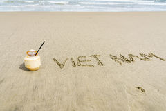Vietnam Beach Royalty Free Stock Photo