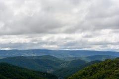 Vietnam bergsikt Arkivfoton