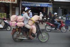 Vietnam bikers Royalty Free Stock Images