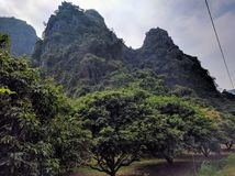 Vietnam cat ba island by day Royalty Free Stock Image