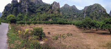 Vietnam cat ba island by day Stock Photos