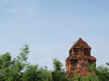 Vietnam Champa temple Royalty Free Stock Photos
