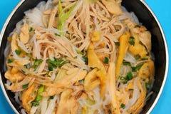 Vietnam chicken pho Royalty Free Stock Photos
