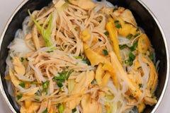 Vietnam chicken pho Royalty Free Stock Photo