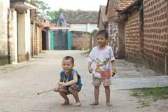 Vietnam Children Playing Royalty Free Stock Photography
