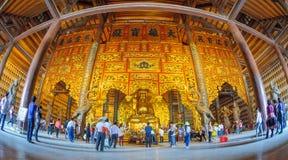 Vietnam Chua Bai Dinh Pagoda Stock Image