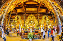 Vietnam Chua Bai Dinh Pagoda 4 Stock Images