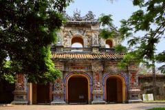 Vietnam Citadel Gate in Hue, Vietnam Stock Photos