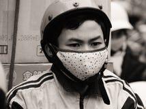 Vietnam começa a batalha da poluição Fotografia de Stock Royalty Free