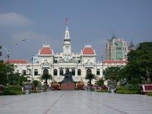 Vietnam constructivo colonial francés fotografía de archivo